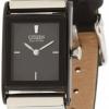 นาฬิกาข้อมือผู้หญิง Citizen Eco-Drive รุ่น EW9215-01E, Leather Black IP Elegant