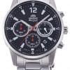 นาฬิกาผู้ชาย Orient รุ่น RA-KV0001B00C, Sports Chronograph Stainless Steel Quartz Japan Men's Watch