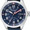 นาฬิกาผู้ชาย Citizen Eco-Drive รุ่น AW5000-16L, Blue