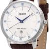 นาฬิกาผู้ชาย Orient รุ่น FUNG5004W0, Quartz Leather Strap Men's Watch