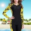 ชุดว่ายน้ำคนอ้วนพร้อมส่ง :ชุดว่ายน้ำสีเหลืองแขนยาวแต่งลายกราฟฟิกสีสันสดใสแบบเก๋ น่ารักมากๆจ้า:มีSize L,2XL รายละเอียดไซส์คลิกเลยจ้า