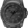 นาฬิกาข้อมือผู้ชาย Citizen Eco-Drive รุ่น BJ8075-58E, Stealth Black Super Titanium 200m Shock Proof