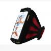 กระเป๋าคาดเเขนแบบผ้าระบายอากาศสีแดง