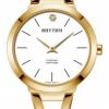 นาฬิกาผู้หญิง Rhythm รุ่น L1501S02, Diamond Sapphire L1501S 02, L1501S-02