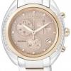 นาฬิกาข้อมือผู้หญิง Citizen Eco-Drive รุ่น FB1385-53W, Genuine Diamond Chronograph Sapphire Japan