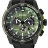 นาฬิกาข้อมือผู้ชาย Citizen Eco-Drive รุ่น CA4156-01W, Chronograph 100m Tachymeter Sports Watch