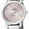 นาฬิกาข้อมือผู้หญิง Citizen Eco-Drive รุ่น EP5880-58X, Sapphire Pink Micro Dial Japan Watch