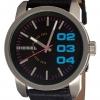 นาฬิกาผู้ชาย Diesel รุ่น DZ1514, Striking Black Dial Black Leather Strap Quartz
