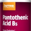 Jarrow Formulas Pantothenic Acid B5 500 mg 100 Capsules