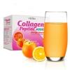 Vistra Collagen Peptide 4000 mg กล่องบรรจุ 10 ซอง รสส้ม
