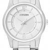 นาฬิกาข้อมือผู้หญิง Citizen รุ่น ER0180-54A, Analog WR Quartz Stainless Steel Watch