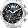 นาฬิกาข้อมือผู้ชาย Citizen Eco-Drive รุ่น CA4130-56E, 100m Chronograph Racing Sports Watch