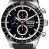 นาฬิกาผู้ชาย Tissot รุ่น T0446142605100, T-Sport PRS516 Automatic Chronograph Black