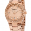 นาฬิกาผู้หญิง Fossil รุ่น AM4508, Serena Crystals Rose Gold-Tone Stainless Women's Watch