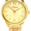 นาฬิกาข้อมือผู้หญิง Citizen รุ่น EJ6082-51P, Analog WR Quartz Ladies Gold Tone Watch