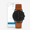 นาฬิกาผู้ชาย Skagen รุ่น SKT1202, Jorn Connected Hybrid Smartwatch Leather Men's Watch