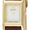 นาฬิกาข้อมือผู้หญิง Citizen Eco-Drive รุ่น EW8282-09P, Leather Elegant Watch