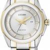นาฬิกาข้อมือผู้หญิง Citizen Eco-Drive รุ่น EW1515-51A, Sapphire Japan 100m Watch
