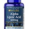 Puritan's Pride Alpha Lipoic Acid 600 mg 60 Capsules