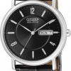 นาฬิกาผู้ชาย Citizen Eco-Drive รุ่น BM8241-01E, Black Leather