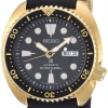 นาฬิกาผู้ชาย Seiko รุ่น SRPC44, Prospex Automatic Diver Gold Tone Silicone Strap