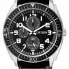 นาฬิกาข้อมือผู้ชาย Citizen Eco-Drive รุ่น AP4010-03E, Multi Dial 100m Leather Sports Watch