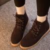 รองเท้าบูทส้นสูงผูกเชือก