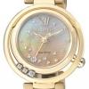 นาฬิกาข้อมือผู้หญิง Citizen Eco-Drive รุ่น EM0328-57P, Diamonds Japan Sapphire Mother Of Pearl Elegant