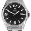 นาฬิกาผู้ชาย Orient รุ่น SER2D007B0, Automatic Japan Black Dial