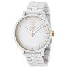 นาฬิกาผู้หญิง Nixon รุ่น A0991035, White Dial Analog Quartz Watch Stainless Steel Strap