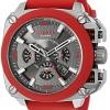 นาฬิกาผู้ชาย Diesel รุ่น DZ7368, BAMF Gunmetal Dial Men's Red Tone Chronograph Watch