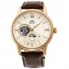 นาฬิกาผู้ชาย Orient รุ่น RA-AS0004S10B, Sun & Moon Open Heart Classic Automatic Men's Watch