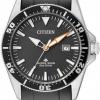 นาฬิกาข้อมือผู้ชาย Citizen Eco-Drive รุ่น BN0100-00E, Promaster Excalibur 200m ISO Cert. Divers Watch
