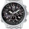 นาฬิกาข้อมือผู้ชาย Citizen Eco-Drive รุ่น AS4020-52E, Promaster Air Radio Controlled Chronograph Nighthawk Sapphire Watch