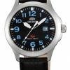 นาฬิกา ชาย-หญิง Orient รุ่น SUNE4009B0, SP Japan Leather 50m Unisex Watch