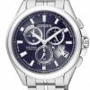 นาฬิกาข้อมือผู้ชาย Citizen Eco-Drive รุ่น BY0050-58L, Promaster Global Radio Controlled Super Titanium Sapphire