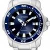 นาฬิกาข้อมือผู้ชาย Citizen Automatic รุ่น NJ0010-55L, 100m Sports Watch