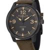 นาฬิกาผู้ชาย Stuhrling Original รุ่น 1129Q.03, Condor Swiss Quartz Green Leather