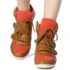 รองเท้าเสริมสูง Skechers Velcroสไตล์ยุโรป
