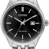 นาฬิกาข้อมือผู้ชาย Citizen Eco-Drive รุ่น BM7250-56E, Sapphire Japan 100m Black Dial