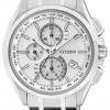นาฬิกาข้อมือผู้ชาย Citizen Eco-Drive รุ่น AT8050-53A, Titanium Global Radio Controlled Sapphire Chronograph
