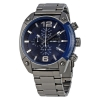 นาฬิกาผู้ชาย Diesel รุ่น DZ4412, Overflow Blue Chronograph