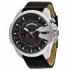 นาฬิกาผู้ชาย Diesel รุ่น DZ4320, Mega Chief Black Leather Men's Watch