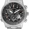 นาฬิกาข้อมือผู้ชาย Citizen Eco-Drive รุ่น BY0085-53E, Promaster Global Atomic Chrono Sapphire