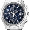 นาฬิกาผู้ชาย Citizen Eco-Drive รุ่น CA0650-82M, Chronograph Titanium