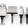 สายชาร์จ Earldom 3 in 1 iPhone 4+iPhone 6+Micro USB