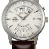 นาฬิกาข้อมือผู้ชาย Orient รุ่น SEU0A005WH, Multi-Year Perpetual Calendar Automatic