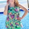 ชุดว่ายน้ำคนอ้วนพร้อมส่ง :ชุดว่ายน้ำแฟชั่นสีเขียวแต่งลายผ้าระบายแบบเก๋ น่ารักมากๆจ้า:รอบอก40-48นิ้ว เอว28-38นิ้ว สะโพก42-50นิ้วจ้า