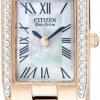 นาฬิกาข้อมือผู้หญิง Citizen Eco-Drive รุ่น EW9813-50D, Silhouette Swarovski Crystals Elegant Watch