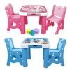 Children tables and chairs โต๊ะทำการบ้าน โต๊ะอ่านหนังสือ เอนกประสงค์